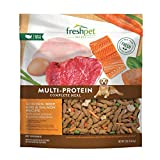 Freshpet Dog Food, Multi-Protein Complete Meal, Chicken, Beef, Egg and Salmon Recipe, 3Lb
