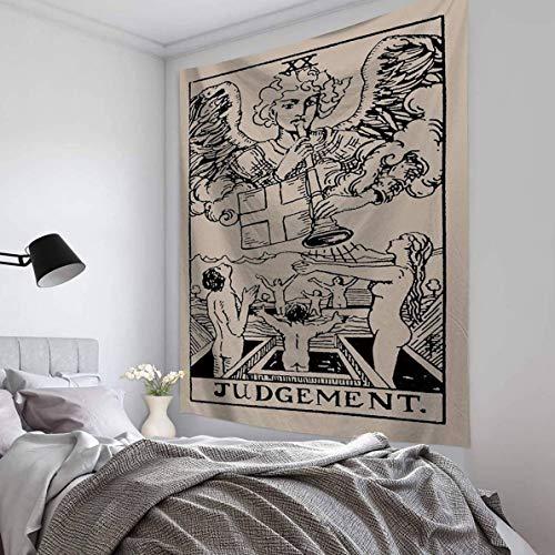 Sidney - Tapiz de Tela para Colgar en la Pared, diseño de Tarot, Poliéster, H10, Talla única