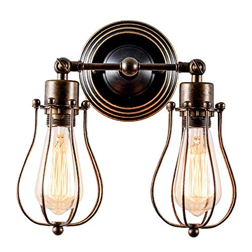 Huahan Haituo industriale Edison retr Vintage Lampada plafoniera con 1/2/3/4/5 luci Retro parete...
