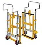 Vestil MFM-4000 Hydraulic Furniture and Crate Mover, Steel, 26-3/4' Width, 49-1/4' Height, 15' Depth, 4000 lbs Capacity