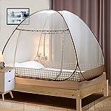 Moustiquaire de Lit, Digead Portable de voyage Moustiquaire, Double Porte Camping Mosquito Rideau, 200 * 120 *...