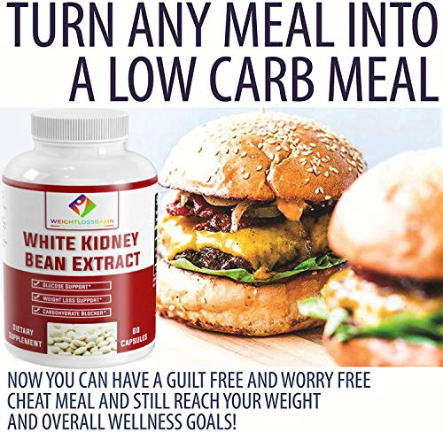 White Kidney Bean - WeightlossBAMN-Carb Blocker and Fat Absorber for Weight Loss, Remove Belly Fat Suppress Glucose & Keto Support Appetite Natural Weight Loss for Men and Women- Boobies 2