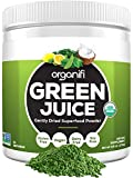 Organifi: Green Juice - Organic Superfood Supplement Powder - 30 Day Supply - USDA Certified Organic Vegan Greens- 9.5 Ounce (Pack of 1)