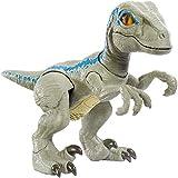 Jurassic World Figurine Dinosaure Articulé Bébé Vélociraptor Bleu, Jouet...