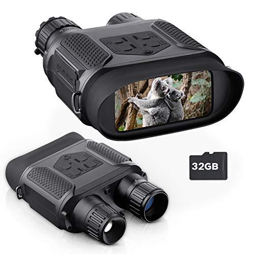 Binocolo visione notturna catturano immagini e video in un ambiente totalmente nero, 7x31MM binocolo...
