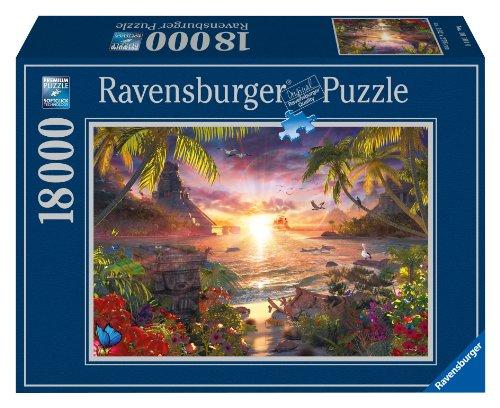 Ravensburger 17824 7 - Tramonto Paradisiaco - Puzzle, 18000 Pezzi