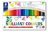 Staedtler Ergosoft 157, Crayons de couleur tendres pour dessin et...