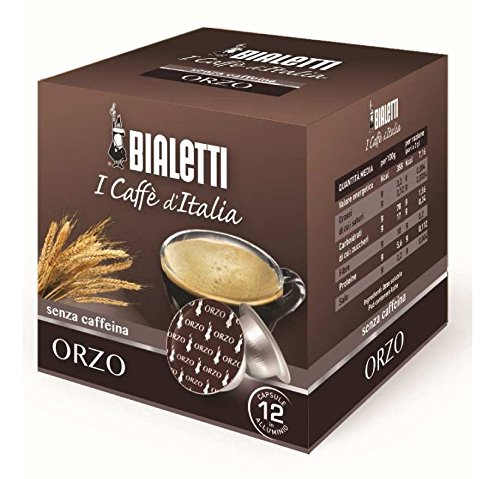 Bialetti - Confezione da 96 capsule ORZO BIALETTI