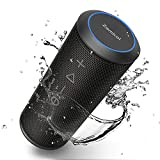 Zamkol Enceinte Bluetooth Portable, Waterproof Haut-Parleur Bluetooth Enceinte...