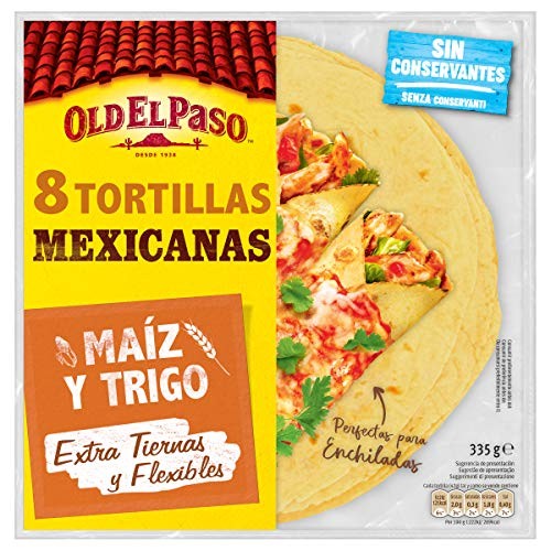 Old El Paso Tortilla de Maíz y Trigo, 335g