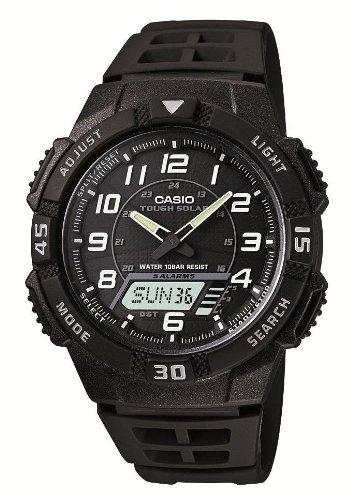 [カシオ] 腕時計 スタンダード ソーラー AQ-S800W-1BJF ブラック