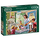 Falcon Deluxe Baking with Mother Jigsaw Puzzle (1000 Pieces)