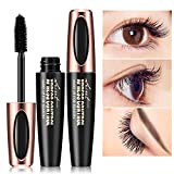 ARTIFUN 4D Silk Fiber Lash Mascara, Very Black Color, Volumizing Mascara, Washable Mascara,Hypoallergenic, For All Eye Colors & Skin Tones