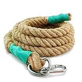 Echelle corde à grimper en chanvre