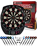 WIN.MAX Electronic Dart Board,Soft Tip Dartboard Set LCD Display with 6 Darts, 40 Tips, Power Adapter