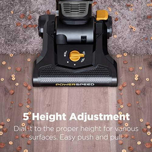 eureka PowerSpeed Bagless Upright Vacuum Cleaner, Pet Turbo, Black 14