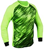 Total Soccer Factory Spectra Goalkeeper Jersey (Lime Green, YM (Chest 30-32')