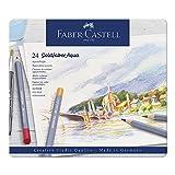 Goldfaber Aqua Crayons d'aquarelle Boîte métal de 24 pièces dans une boîte...
