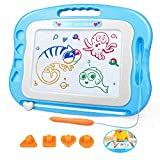 HAIMST Magnetic Drawing Board for Kids, Large 15.7 Inch Magnetic Doodle Board Writing Painting Sketching Pad for Toddler - Colorful Erasable Drawing Pad