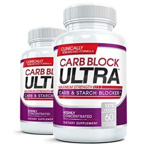 CARB BLOCK ULTRA (2 Bottles) Clinical Strength Carbohydrate & Starch Blocker Supplement with White Kidney Bean Extract - Lose Weight Without Dieting! 60 capsules per bottle 13 - My Weight Loss Today