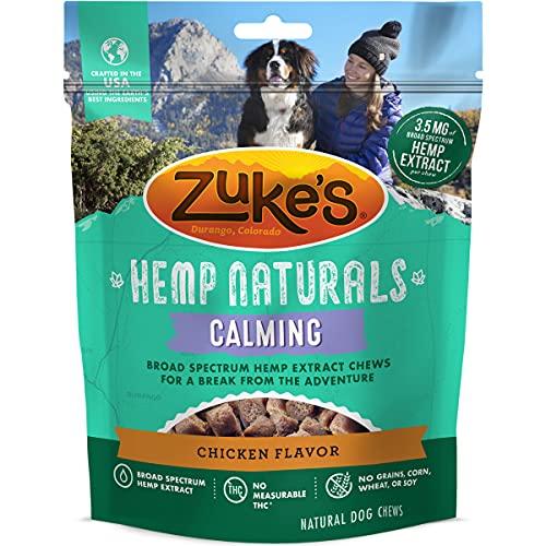Zuke's Hemp Naturals Calming Dog Treats - Chicken 5.0 oz Pouch