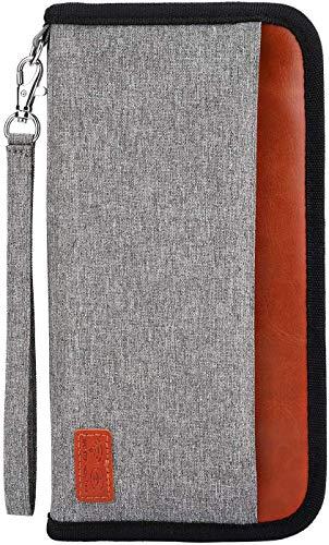 Portefeuille Passeport,Portefeuille de Voyage Familial avec Blocage RFID...