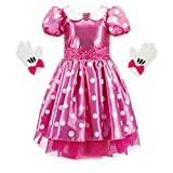 Disney Minnie Mouse Pink Costume for Girls, Size 4
