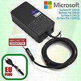 MICROSOFT SURFACE Chargeur 2 Vitesses RT/Pro / 2 / Pro avec Port de Charge...