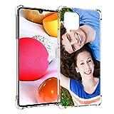 SHUMEI Coque personnalisée pour Samsung Galaxy A12, Photo personnalisée, Absorption des Chocs, Coque en TPU Souple, Image HD personnalisée