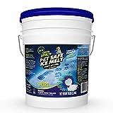 Green Gobbler Pet Safe Ice Melt Fast Acting Treatment   Magnesium Chloride Ice Melt Pellets   Pet & Plant Safe Ice Melter (35lb Pail)