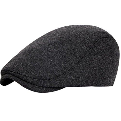 Leisial Unisexes Béret de Loisirs Chapeau de Soleil Réglable en Coton...