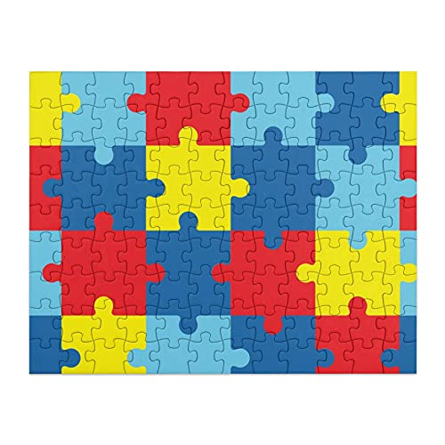 The Symbol of Autism Puzzles for Toddlers Jigsaw Waterproof...