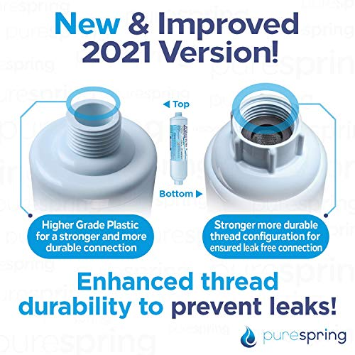 Product Image 4: PureSpring RV Inline Water Filter with Flexible Hose Protector for RV's, Campers, Motor Homes, Boats, Pets, Automobile/Car Washing