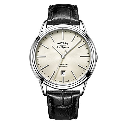 Rotary Herren - Armbanduhr Tradition Analog Quarz GS90161/32