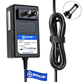 T-Power 12v 6.6ft Ac Adapter Charger Compatible with Seagate FreeAgent GoFlex Desk Backup Plus Hub P,N : 9ZC2A8-501 9ZC2A8-500 9ZC2AG-501 9ZQ2A1-500 9NL6AR-500 9NL6AG-500 9SE2A2-571 9W2681-540
