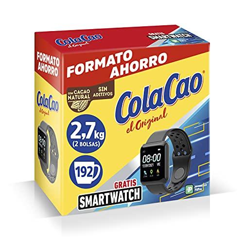 ColaCao el Original con Cacao Natural, con Smartwatch, 2 x 1