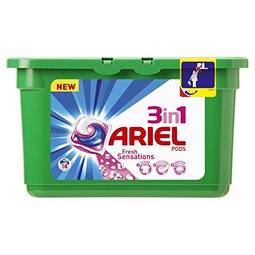 Ariel Cápsulas de Detergente 3 en 1 - 14 Unidades
