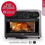 DASH DAFT2350GBGT01 Chef Series Air Fry Oven, 23L, Graphite
