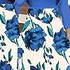 Women Floral Long Sleeve Boho Print Long Dress Ladies Casual Dress #2