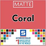 Stahls' Matte 15' x 2' Foot Roll HTV Cad Cut Heat Transfer Vinyl...