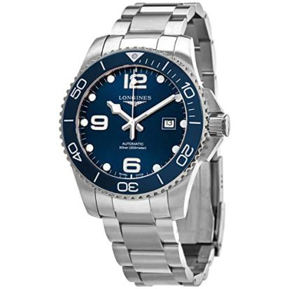 Longines HYDROCONQUEST Ceramic Bezel 43MM Blue DIAL Automatic Diving Watch L37824966
