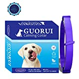 GUORUI Calming Pheromone Collar for Dogs Relieves Anxiety - Adjustable Sedative Collar Provides 60 Days of Protection for Small Medium and Large Dogs (24.5 Inch)
