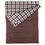Coleman Sac de Couchage Rectangulaire Adulte Hampton Double - 2 Personnes