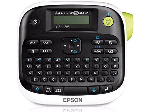 Epson LabelWorks LW-300 Iron on Set, Black on Blue (2 Tapes Inside)