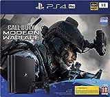 PlayStation 4 Pro 1 To avec manette sans fil DUALSHOCK 4 et le jeu Call Of Duty Modern Warfare, Console deux fois plus puissante pour donner un coup de fouet à vos jeux Puissance graphique doublée pour encore plus de fluidité et de netteté, Taux de r...
