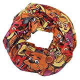 Five Nights at Freddy's Toss Heads Infinity Viscose Scarf
