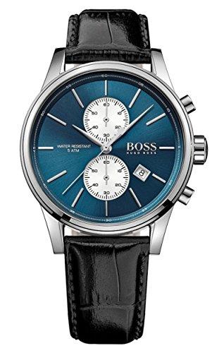 Hugo Boss Herren-Armbanduhr Analog Quarz Leder 1513283