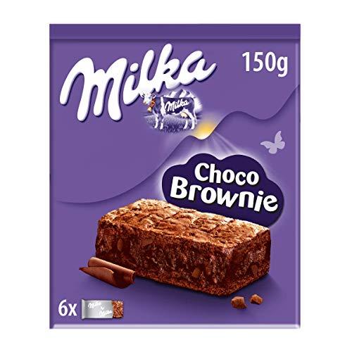 Milka Choco Brownie Bizcocho de Chocolate con Leche de Los A