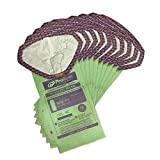 ProTeam 107313 Intercept Micro Filter Bags with Open Collar and 10-Quart Capacity, 10-Pack of Replacement Vacuum Filters