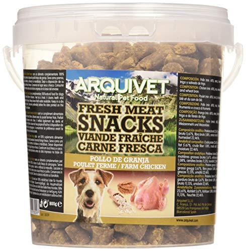 Arquivet Snacks para perro - Carne fresca de pollo de granja -...